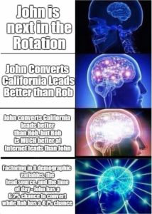 Evolution Lead routing